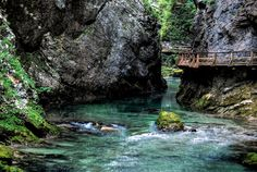 Vintgar Gorge, Triglav National Park