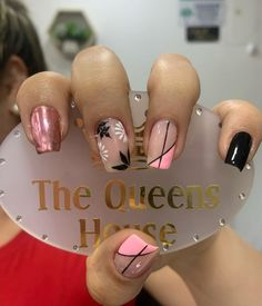 Short Nail Designs, Cute Nail Designs, Cute Nails, Pretty Nails, Semi Permanente, Nail Art Photos, Luxury Girl, Crazy Nails, Dream Nails