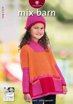 gratis oppskrift, sandnes garn, 1 genser+1 tunika