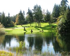 Canterwood Golf and Country Club.  Gig Harbor, Washington.