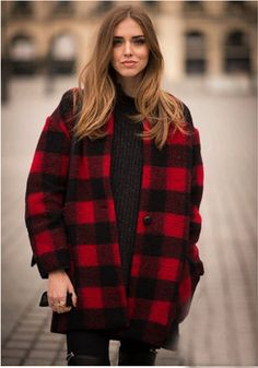 Runway Fashion 2015 High Quality Isabel Coat Marant Wide-waisted Single Button Red And Black checkered Wool Blends Jacket