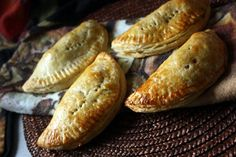 "Still have some leftovers? Try these Turkey Dinner ""Pasties"""