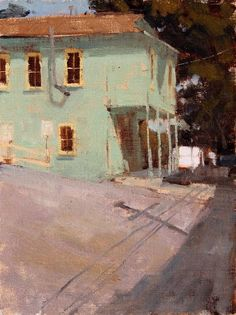 Color choice and shadows - I feel like I'm  standing across the street!  simena:    Terry Miura