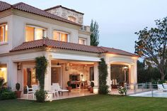House dream mansions porches 30 ideas house is part of House - Classic House Design, Dream Home Design, Modern House Design, Villa Plan, Dream Mansion, Luxury Homes Dream Houses, Dream House Exterior, Mediterranean Homes, House Goals