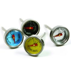 Always cook your steak to perfection with these Mini Steak Thermometers available at the Food Network Store!