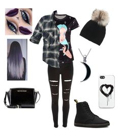 """""""Winter #6"""" by bdunsieth on Polyvore featuring River Island, Abercrombie & Fitch, Inverni, Dr. Martens, Zero Gravity, Michael Kors and Carolina Glamour Collection"""