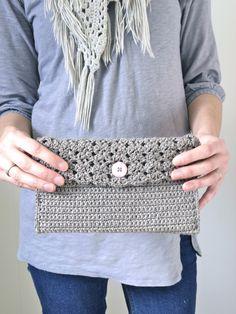 little Hottentot Crochet clutch - and recipe! 1 of 5