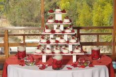 Decoración con cupcakes