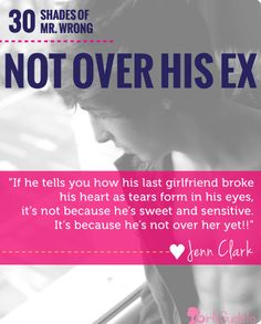what to do if hes not over his ex