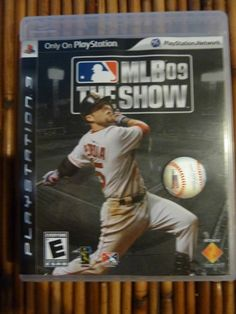 MLB The Show 09 PS3 Complete with Manual Video Game Never Played http://r.ebay.com/VavbV7 @eBay #ps3 #playstation3 #mlb #baseball #videogames