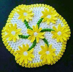 HUZUR SOKAĞI (Yaşamaya Değer Hobiler) Crochet Doilies, Crochet Hats, Indian Designer Wear, Pot Holders, Elsa, Diy And Crafts, Towels, Tutorials, Tejidos