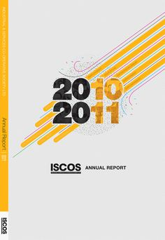 Proposed Annual Report Cover by Winston Cangsuco, via Behance