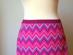 jarní sukně / spring skirt tutorial
