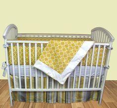 Milano Crib Bedding by Bebe Chic-Milano Crib Bedding by Bebe Chic, gold and silver crib bedding, bedding for babies, bebe chic
