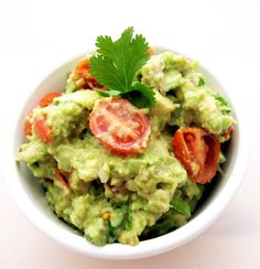 Easy Guacamole:  Impress your guests and your tastebuds.