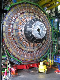 The Large Hadron Collider (LHC) is the world's largest and highest-energy particle accelerator. It was built by the European Organization for Nuclear Research (CERN) from 1998 to 2008 Theoretical Physics, Quantum Physics, Particle Accelerator, Large Hadron Collider, Nuclear Reactor, Higgs Boson, Atoms, Applied Science, Atomic Age