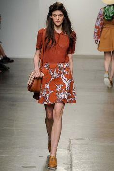 Karen Walker Spring 2015 Ready-to-Wear - Collection - Gallery - Look 1 - Style.com