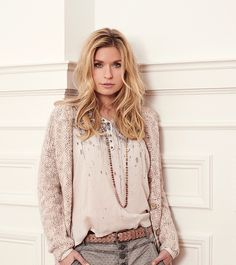 We love this outfit from our autumn collection. Cream Outfits, South African Fashion, Basic Outfits, Fashion Online, Boho, Grey, Lace, Stuff To Buy, Shopping