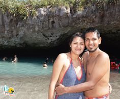 Islas Marietas - Marietas Islands - Hidden Beach - Puerto Vallarta - Bahía de Banderas - #love #beach #couple #travel #hiddenbeach