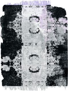 Diamond Dust / Nordic Raw   by Henzel / Calle Henzel Studio – Contemporary Art Rugs