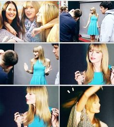 "Behind the scenes of ""Taylor"""