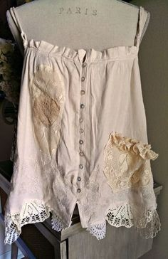 pretty + delicate upcylced top in pink w/ lace