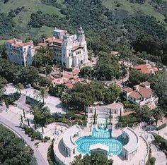 Hearst Castle in San Simeon, CA