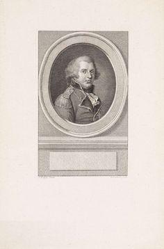 Reinier Vinkeles | Portret van Frederik, hertog van York en Albany, Reinier Vinkeles, 1785 - 1796 | Portret van Frederik, hertog van York en Albany, opperbevelhebber van de troepen in de Verenigde Provincies.