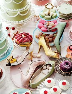 I want a Jane Austen tea party for my birthday.  And shoes.