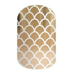Siren Song | Jamberry Nails It's useless to resist this shining metallic gold ombre wrap. #SIRENSONGJN Shop at www.KreativeKatie.Jamberry.com