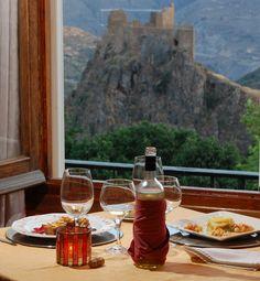Restaurante con vistas. Restaurant with views