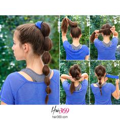 Simple yet useful trick on taming your hair while working out. You know, you need to look pretty all the time, even when you`re all sweaty and tired. #hairtutorial #hair #ighair #hairfashion #hairoftheday #hairideas #blackhair #hairinspiration #gorgeous #brunette