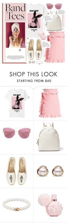 """Ariana Team"" by karolinapl ❤ liked on Polyvore featuring MSGM, Miu Miu, DKNY, Soludos, Trilogy and Tiffany & Co."