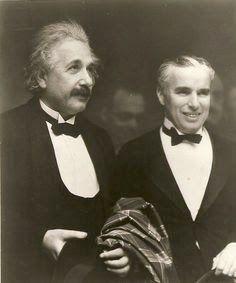 Jochen Ebmeier: When Albert Einstein met Charlie Chaplin.