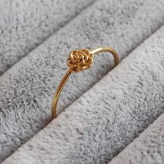 May - Gold Plated Sterling Silver Ring