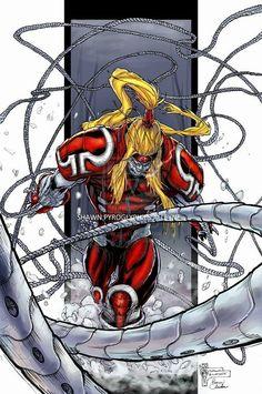 Omega Red | @ComicMangaEnt