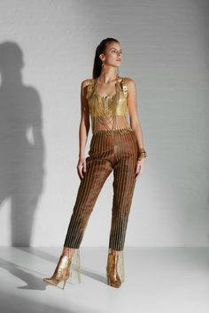 S Quote, Jumpsuit, Gold Chains, Silhouettes, Leather, Collection, Woman, Inspired, Dresses