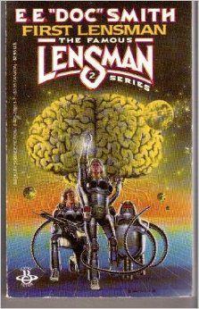 "DAVID BURROUGHS MATTINGLY - art for First Lensman by E.E. ""Doc"" Smith - 1986 Berkley paperback"