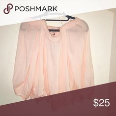 BNWT Ivy & Leo off the shoulder top This is a super cute summer shirt! Color is baby pink. Never had a place to wear it to /: ivy & leo Tops Blouses