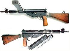Sten Gun MK V 9mm. (left & right view)