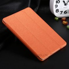 New Arrival Tri-Fold Slim PU Leather Case For iPad Mini Smart Flip Cover With Sleep Wake Stand