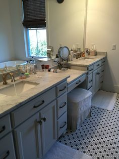 My Sugarberry Cottage master bath.