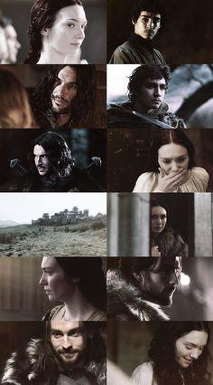 Robert's Rebellion → Catelyn Tully, Petyr Baelish, Brandon Stark, Eddard Stark [dreamcast]
