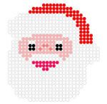Santa from fuse beads patterns
