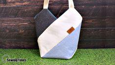 DIY WINDMILL TOTE BAG Diy Belt Pouches, Pouch Bag, Zipper Pouch, Purse Wallet, Cute Makeup Bags, Diy Makeup, Shoe Bags For Travel, Diy Belts, Reusable Grocery Bags