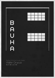 Walter Gropius - Bauhaus School and Faculty, Dessau ©️ by Andrea Gallo Walter Gropius, Bauhaus Art, Bauhaus Design, Bauhaus Style, Bauhaus Logo, Bts Design Graphique, Art Graphique, Frank Lloyd Wright, Johannes Itten
