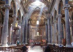 Palermo - S.Giuseppe dei Teatini (Interno)  Foto di Blues Man Giuseppe