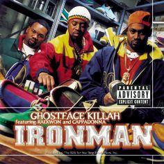 Today in Hip Hop History:Ghostface Killah released his debut. Today in Hip Hop History: Ghostface Killah released his debut solo album Ironman October 29 1996 90s Hip Hop, Hip Hop Rap, Stevie Wonder, Ghostface Killah Ironman, Classic Hip Hop Albums, Hiphop, Ghost Album, U God, Rap Albums