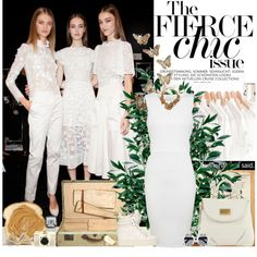 """""""All White Everything!"""" by neditaa on Polyvore"""