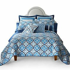 Happy Chic by Jonathan Adler Elizabeth Quilt Set & Accessories - jcpenney